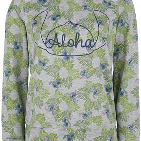 Lilo & Stitch Aloha Sweat-shirt Femme multicolore