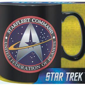 Star Trek Starfleet Command Mug en céramique noir