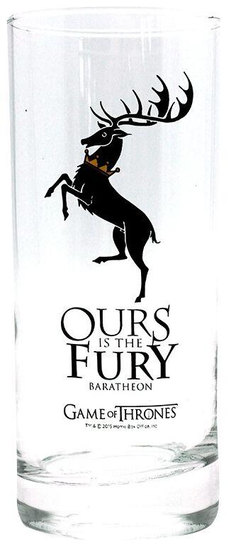 Image of   Game Of Thrones Baratheon Drikkeglas gennemsigtig