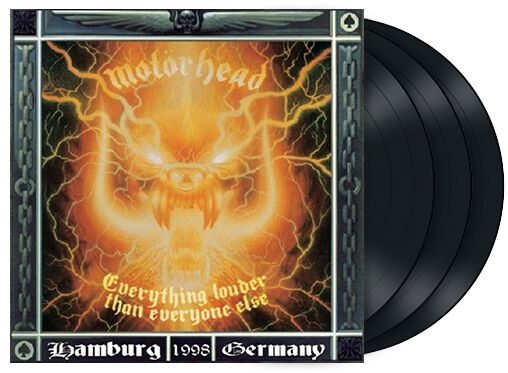 Image of   Motörhead Everything louder than everyone else 3-LP standard