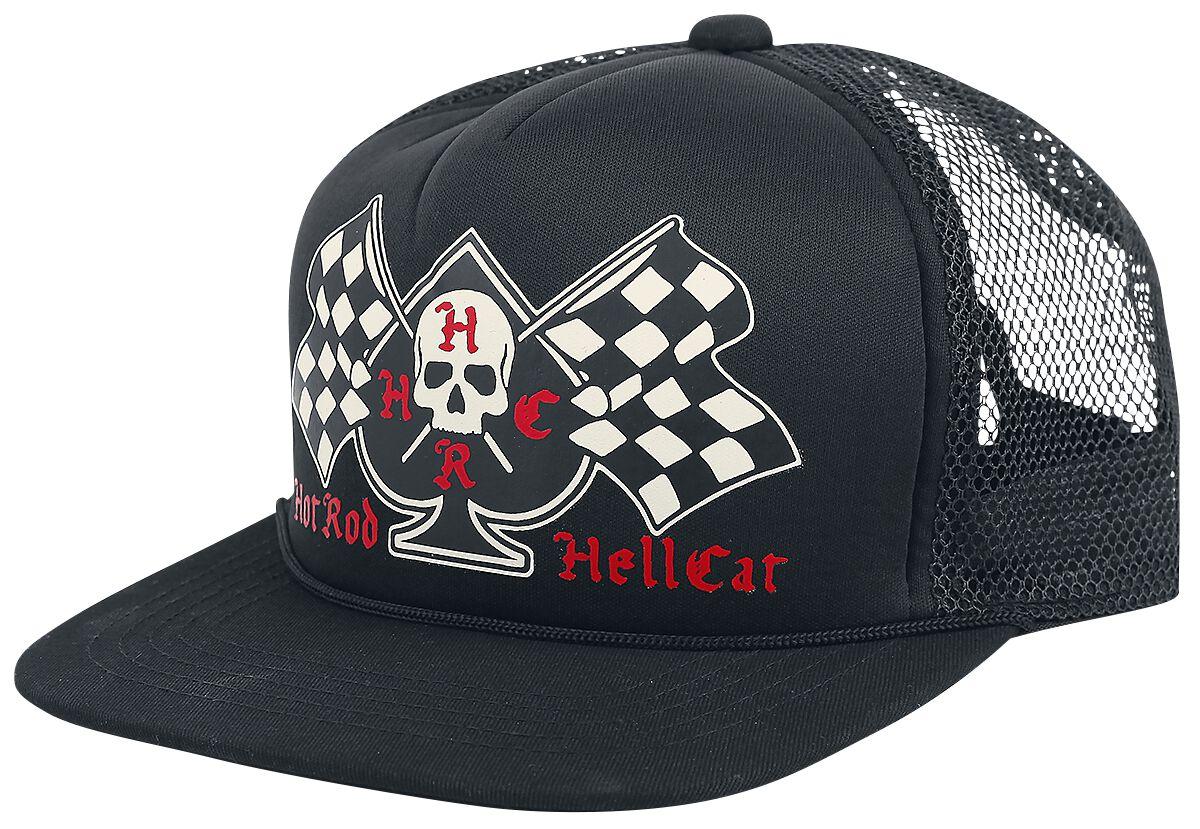 Hot Rod Hellcat Spade Flags Truckercap schwarz