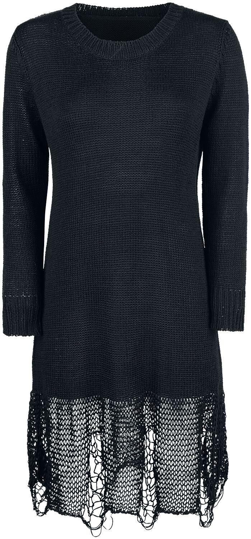 Image of   Forplay Destroyed Dress Kjole sort