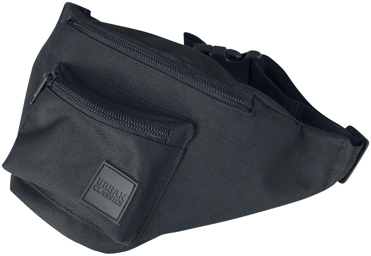 Basics - Torby i Plecaki - Torba na pas Urban Classics Triple-Zip Hip Bag Torba na pas czarny - 353947