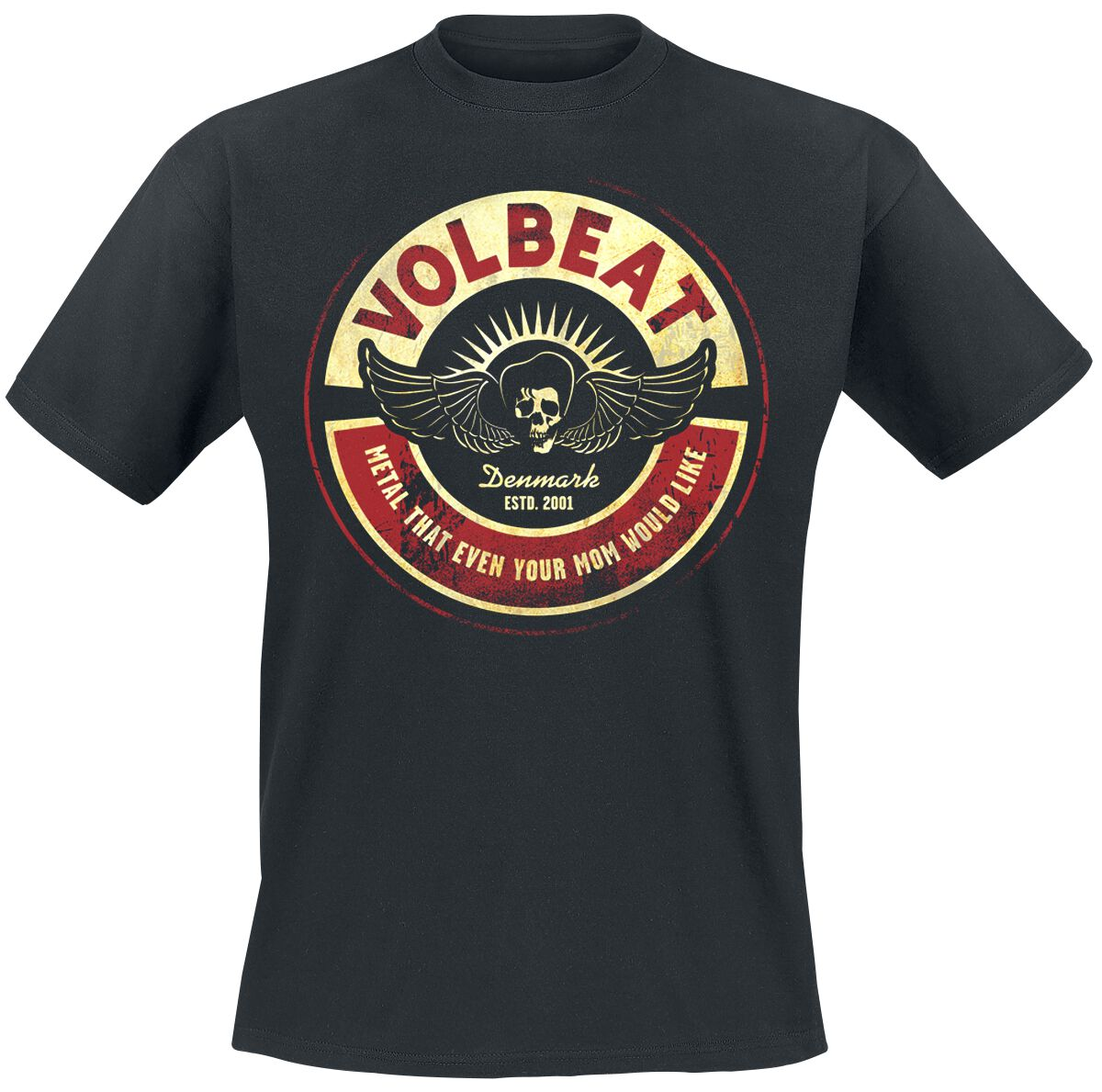 Image of   Volbeat Circle Mom T-Shirt sort