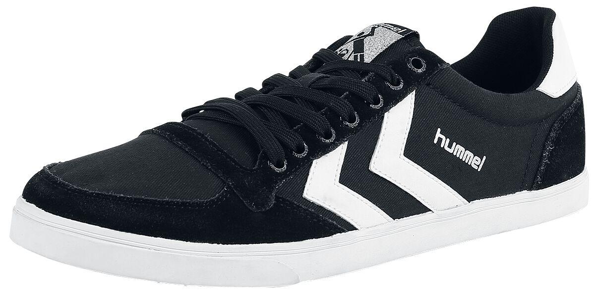 Image of   Hummel Slimmer Stadil Low Sneakers sort-hvid