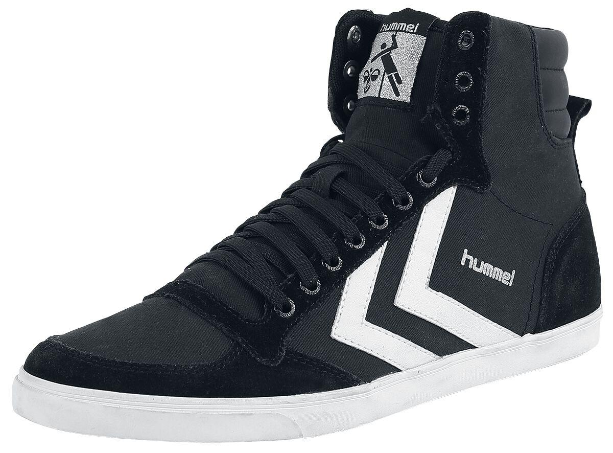 Image of   Hummel Stadil High Sneakers sort-hvid