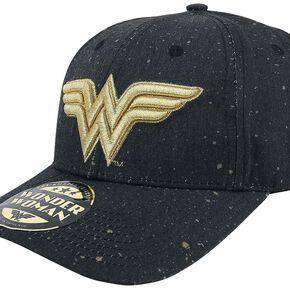 Wonder Woman Logo Casquette Baseball noir