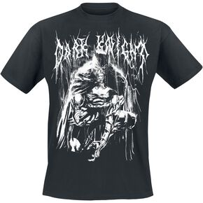 Batman Bat Metal T-shirt noir