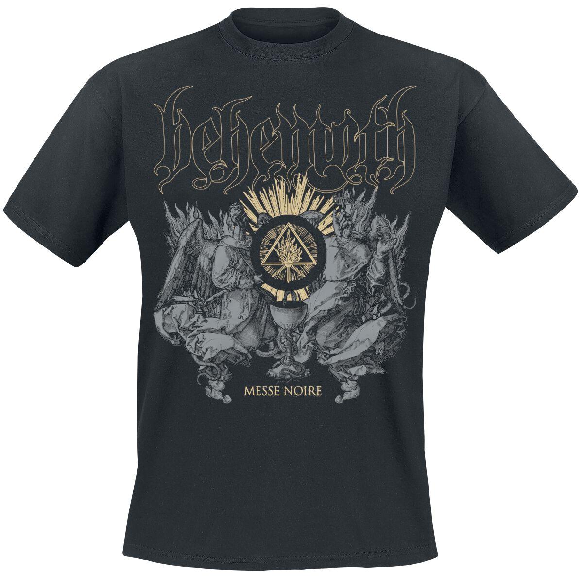 Zespoły - Koszulki - T-Shirt Behemoth Messe Noire T-Shirt czarny - 354075
