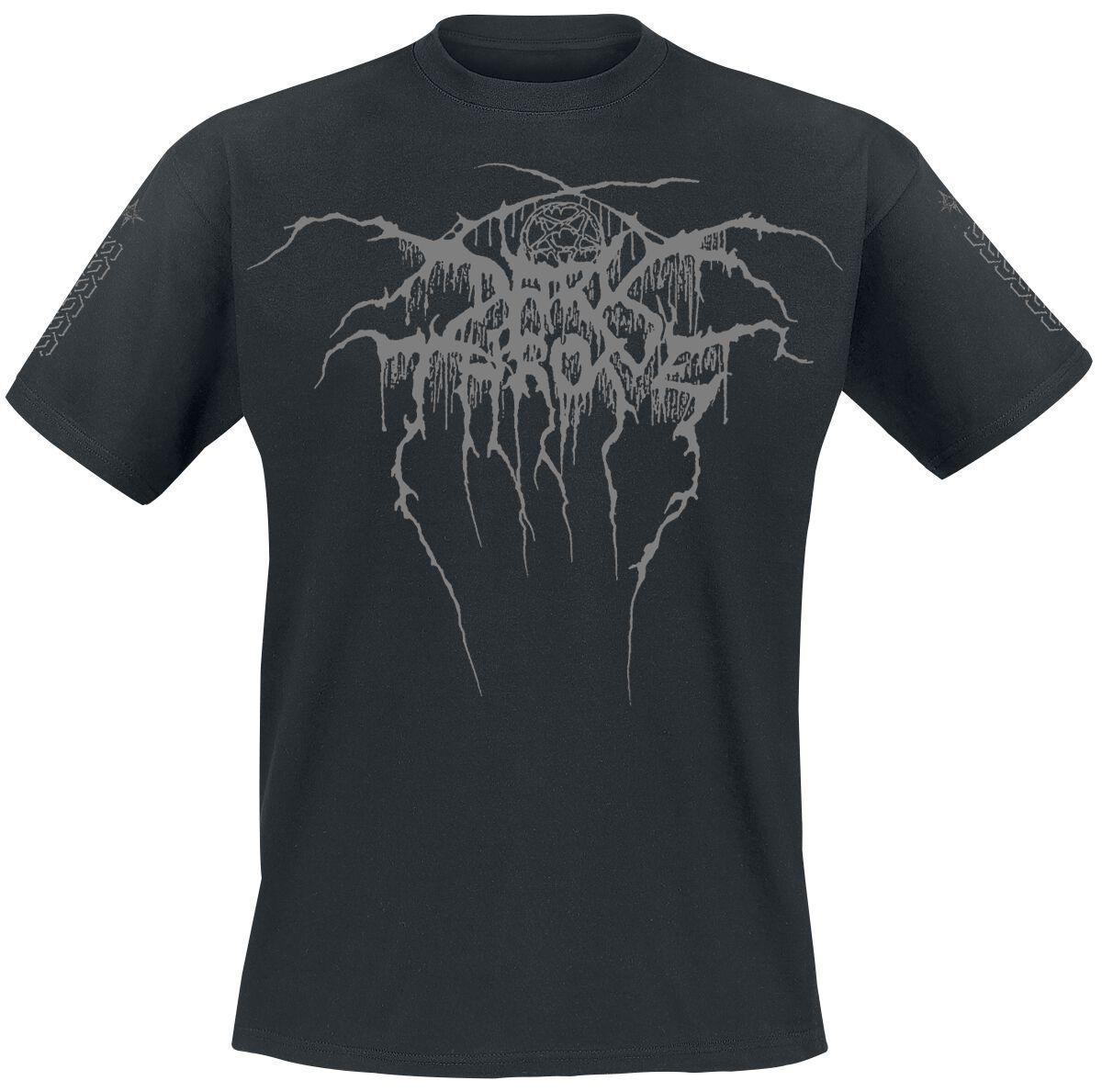 Zespoły - Koszulki - T-Shirt Darkthrone True Norwegian Black Metal T-Shirt czarny - 354146