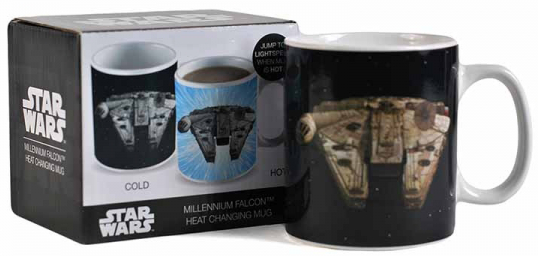 Star Wars Millennium Falcon - Heat Change Mug Krus multifarvet