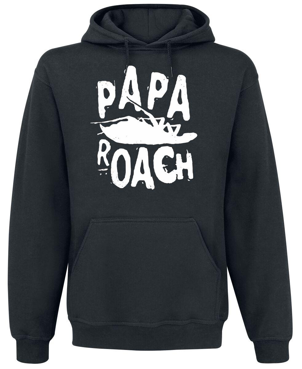 Zespoły - Bluzy z kapturem - Bluza z kapturem Papa Roach Classic Bluza z kapturem czarny - 354358