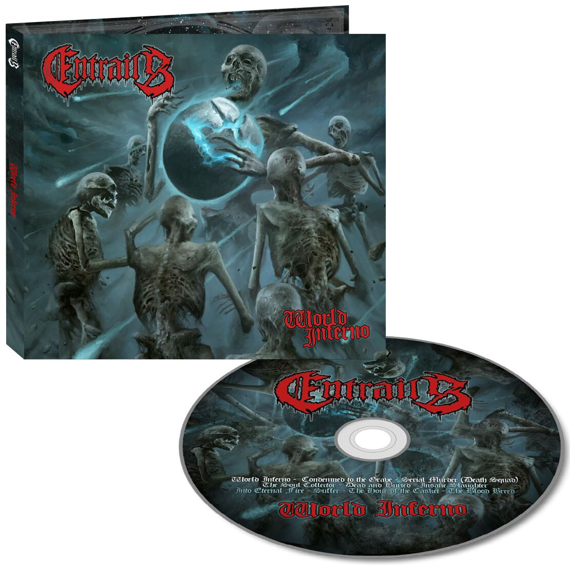 Entrails World inferno CD Standard
