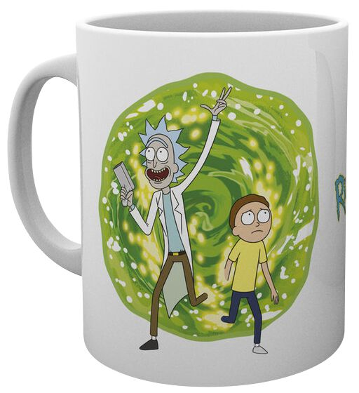 Image of   Rick And Morty Portal Krus multifarvet