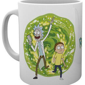 Rick & Morty Portail Mug multicolore