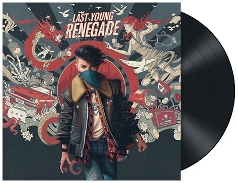 Image of All Time Low Last young renegade LP Standard