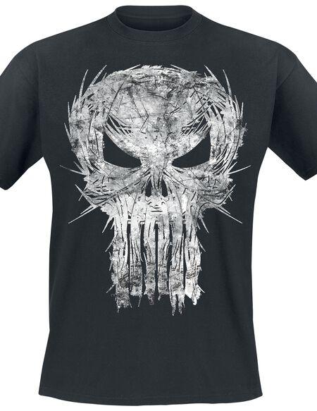 The Punisher Shatter Skull T-shirt noir