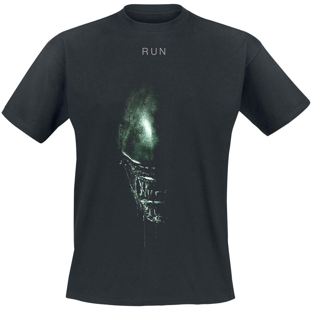 Merch dla Fanów - Koszulki - T-Shirt Alien Run T-Shirt czarny - 354550