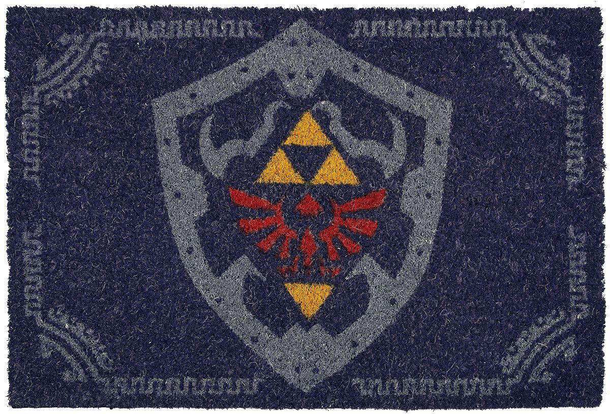 Image of   The Legend Of Zelda Hylian Shield Dørmåtte multifarvet