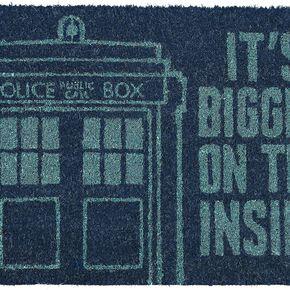 Doctor Who Tardis Paillasson multicolore