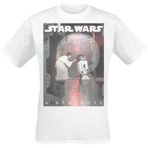 Star Wars Leia Hope T-shirt blanc