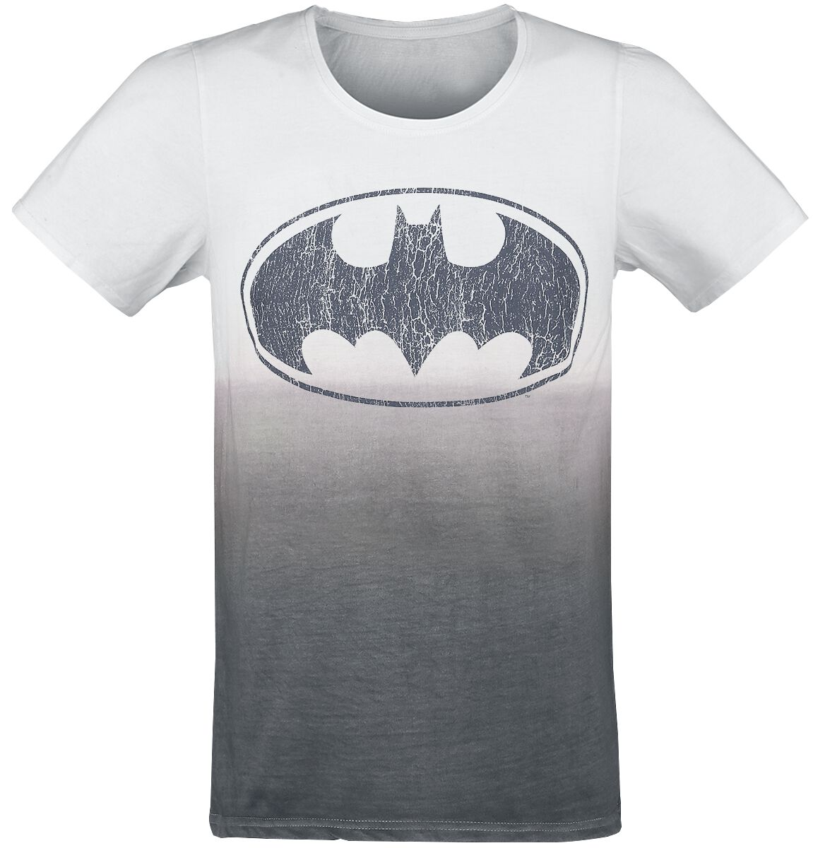 Image of   Batman Logo T-Shirt hvid