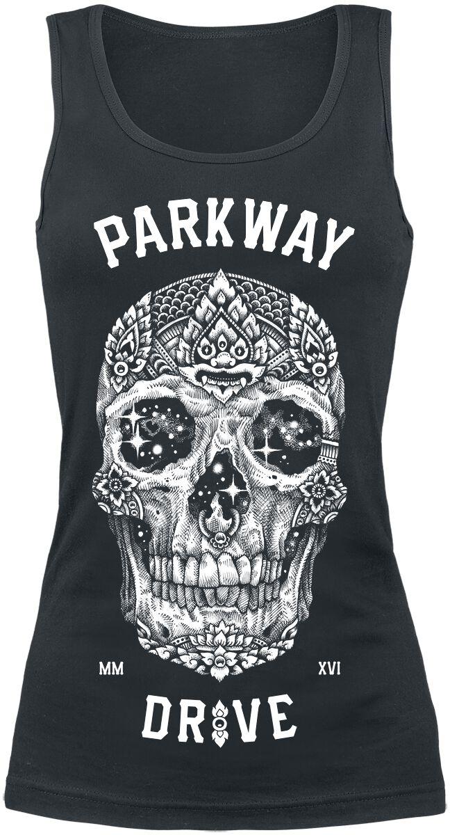 Zespoły - Topy - Top damski Parkway Drive Skull Top damski czarny - 354650