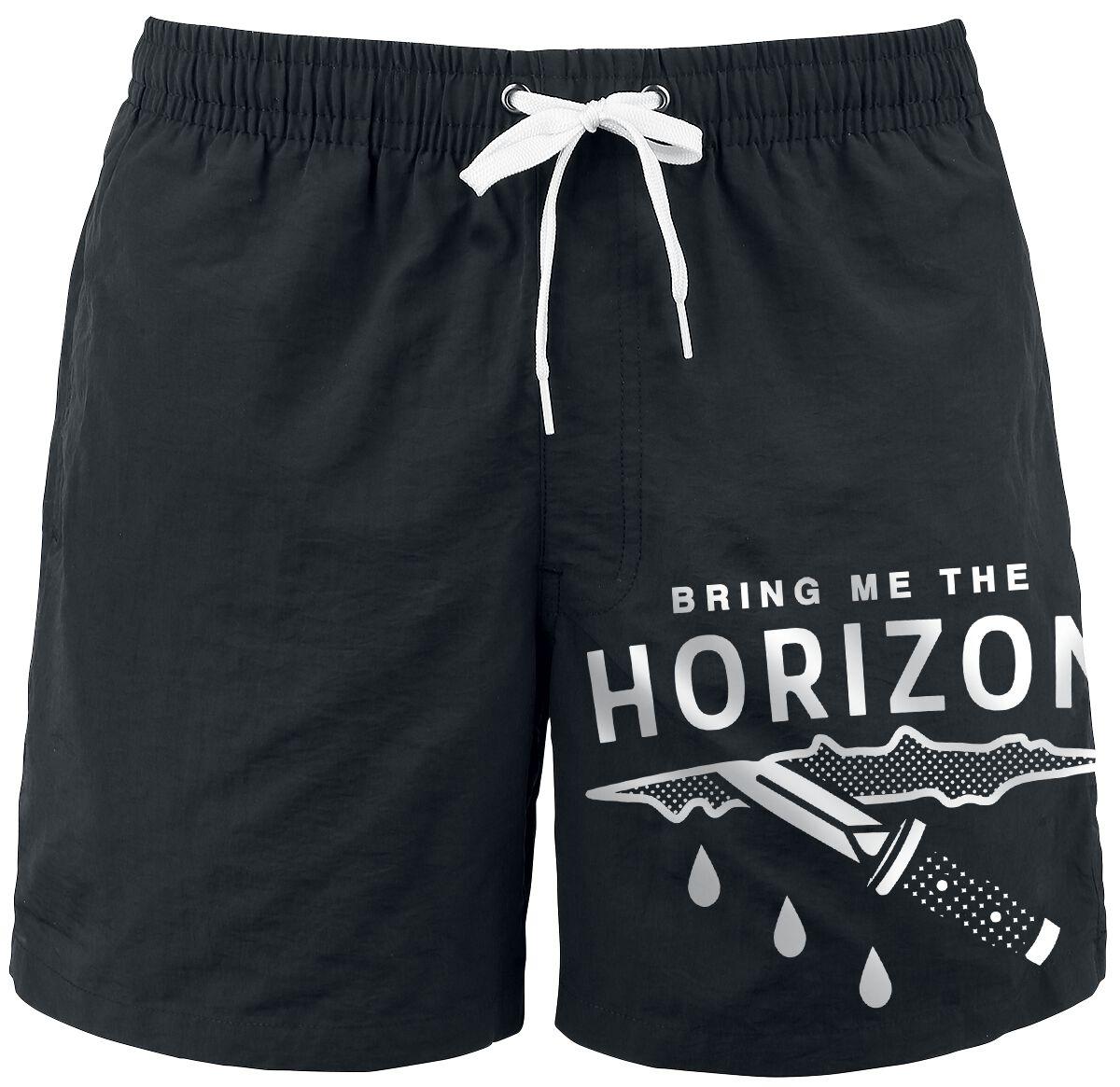 Image of   Bring Me The Horizon Wound Badeshorts sort