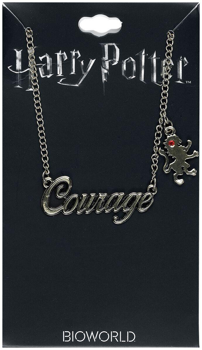 Image of   Harry Potter Gryffindor - Courage Halskæde guld