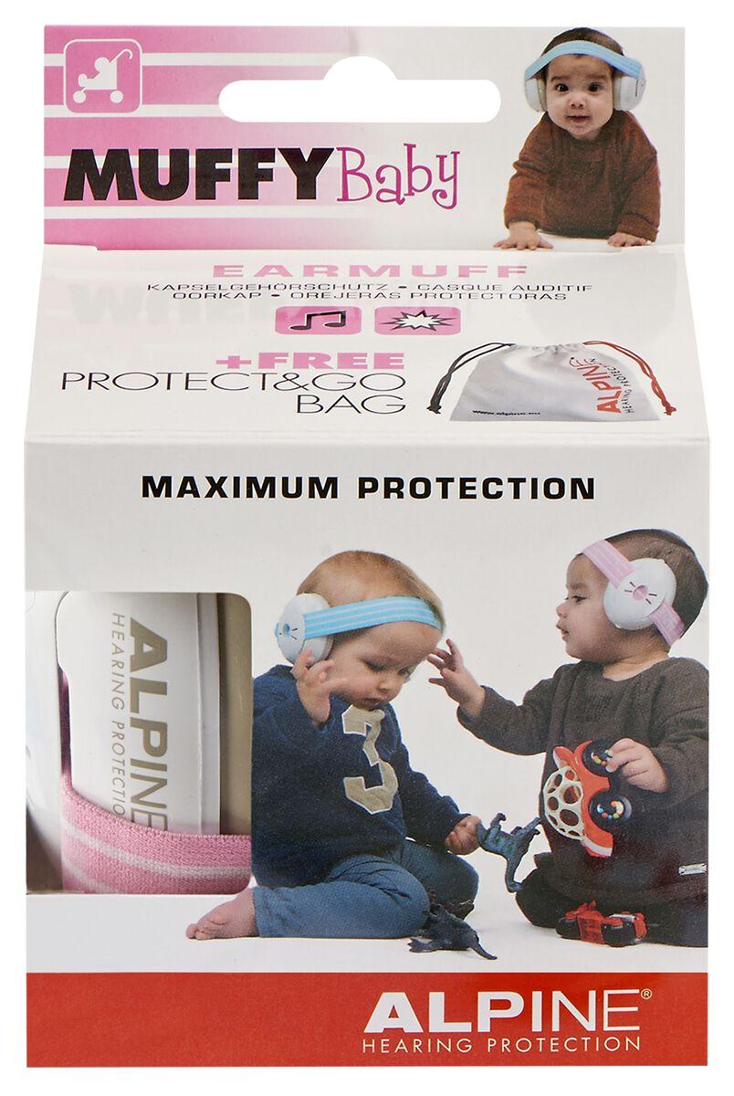 Alpine Muffy Baby Gehörschutz pink