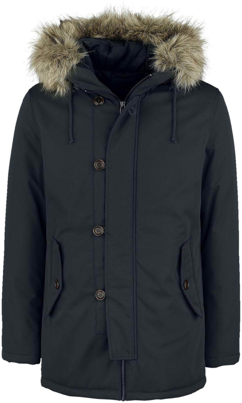Marki - Kurtki - Kurtka zimowa Produkt Fixs Parka Jacket Kurtka zimowa czarny - 354899