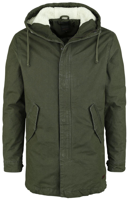 Marki - Kurtki - Kurtka zimowa Produkt Teddy Jacket Kurtka zimowa ciemnozielony - 354902