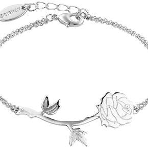 La Belle Et La Bête Disney by Couture Kingdom - Rose Bracelet couleur argent
