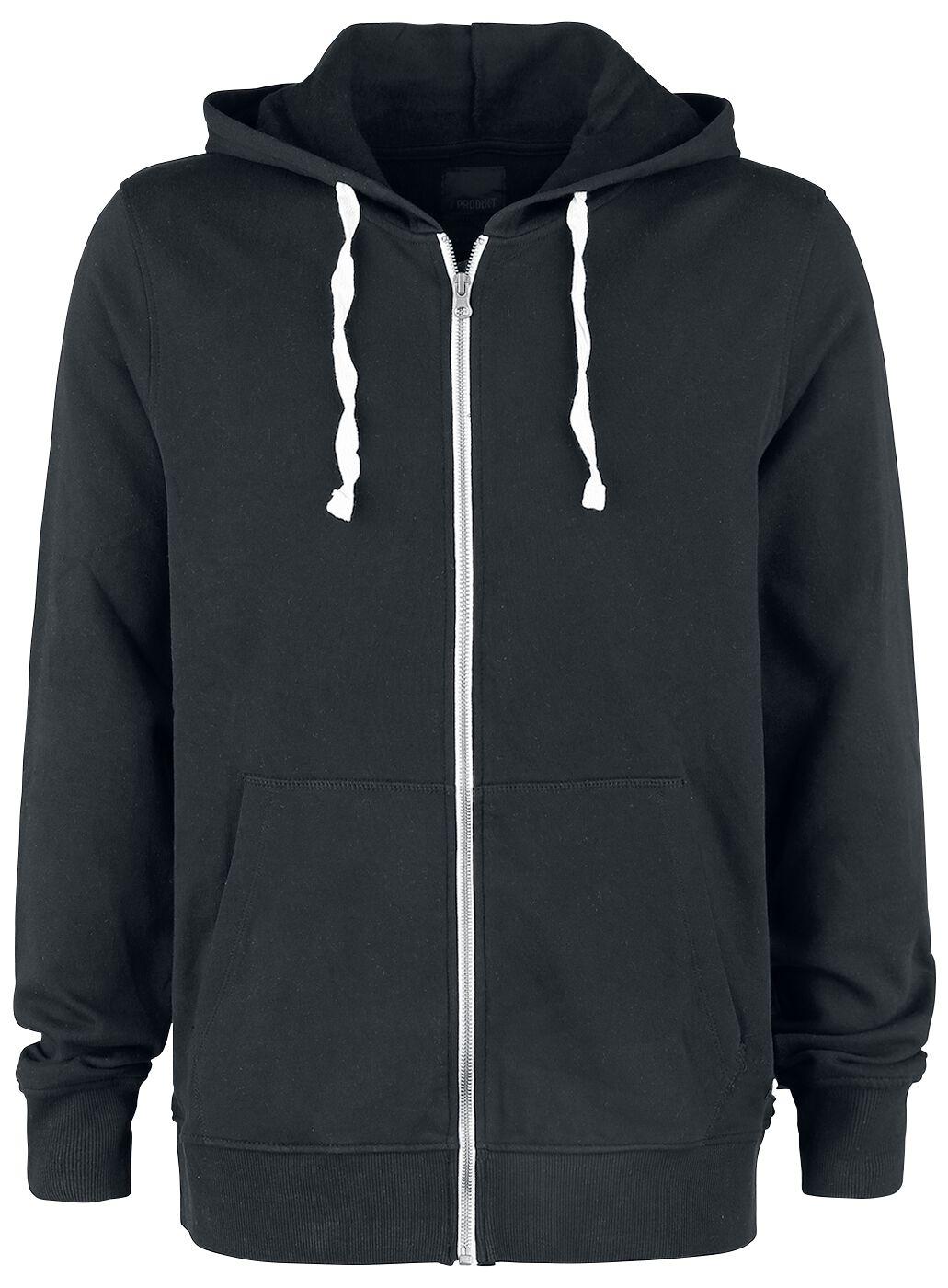 Marki - Bluzy z kapturem - Bluza z kapturem rozpinana Produkt Basic Cardigan Sweat Bluza z kapturem rozpinana czarny - 354914