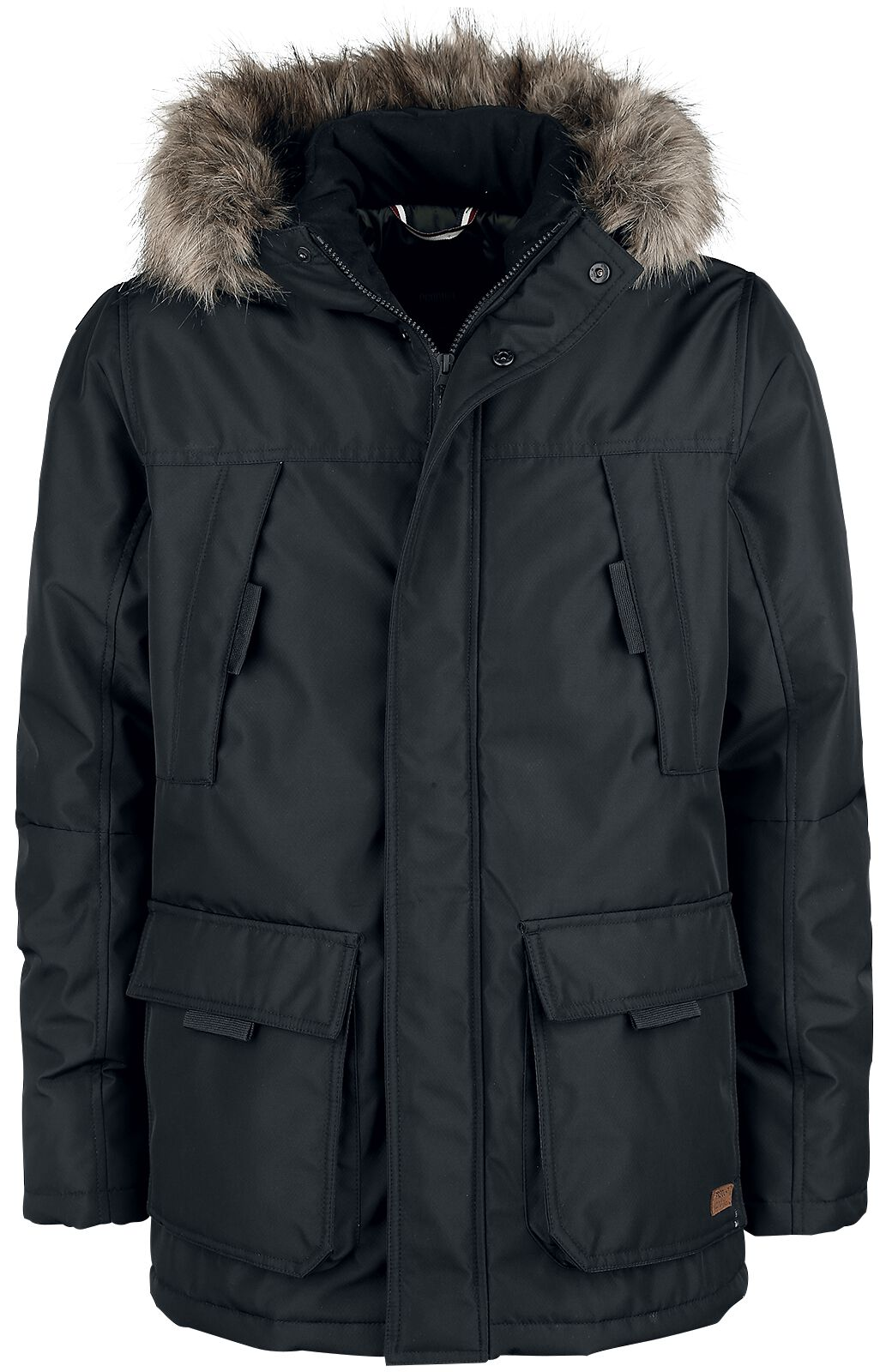 Marki - Kurtki - Kurtka zimowa Produkt Split Parka Jacket Kurtka zimowa czarny - 354953