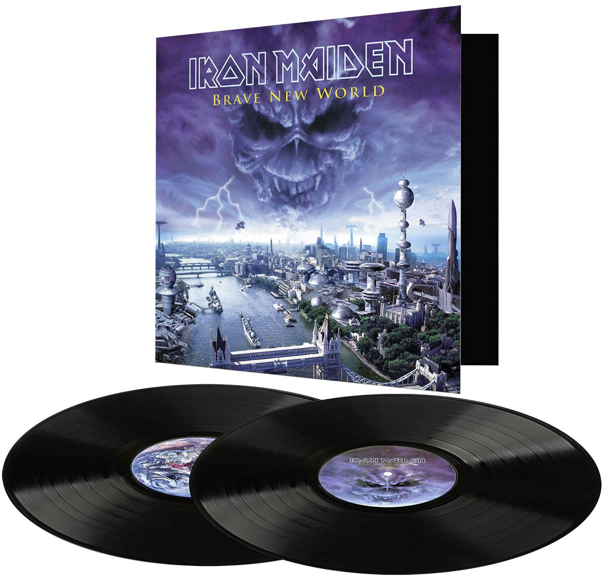 Image of   Iron Maiden Brave new world 2-LP standard