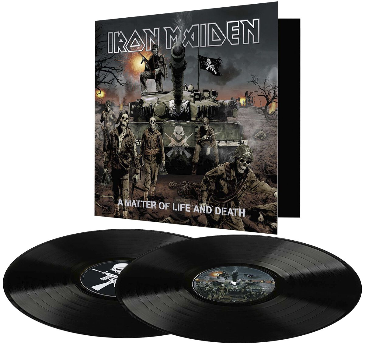 Image of   Iron Maiden A matter of life and death 2-LP standard
