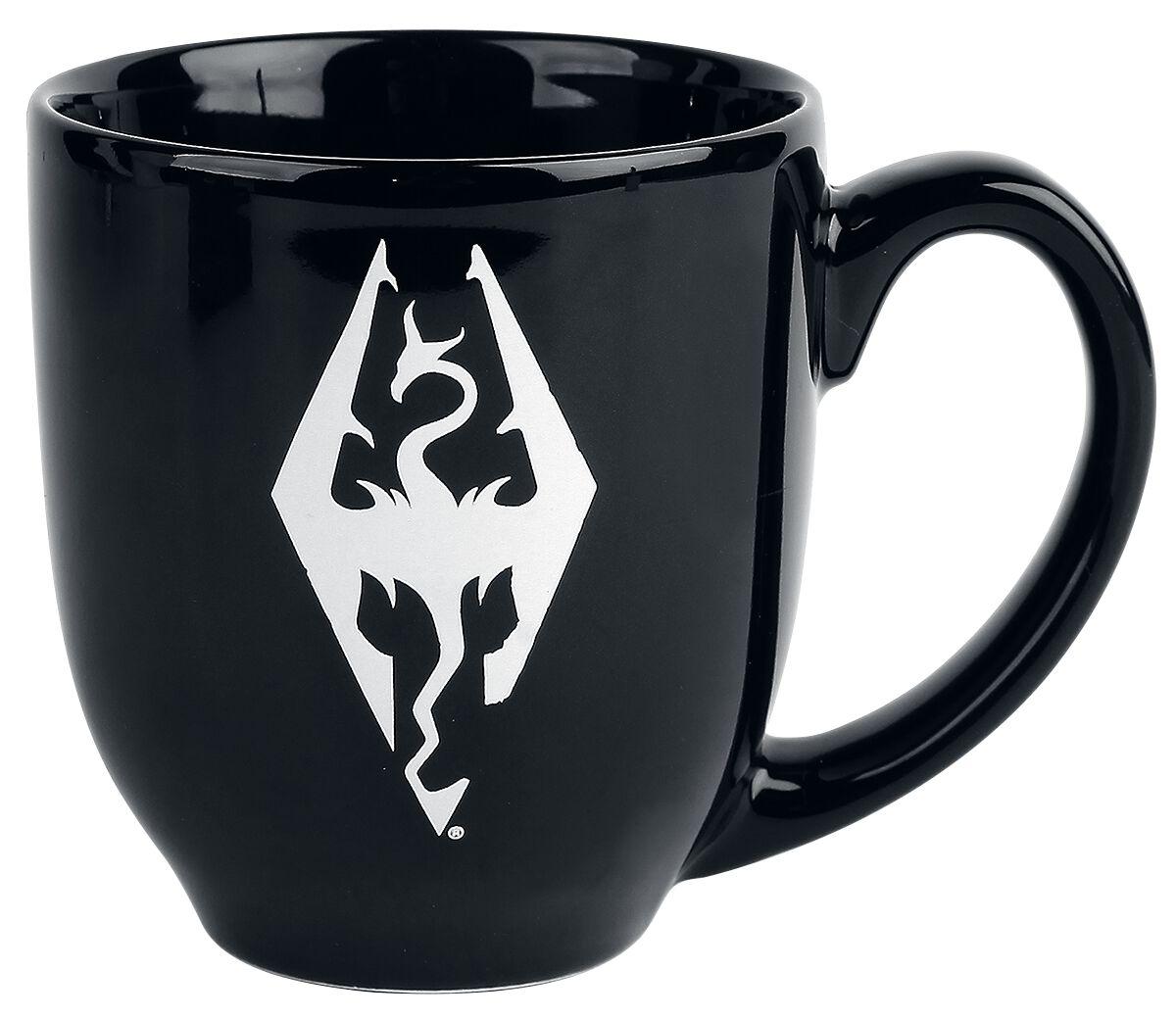 The Elder Scrolls V - Skyrim - Logo Tasse schwarz GE2067