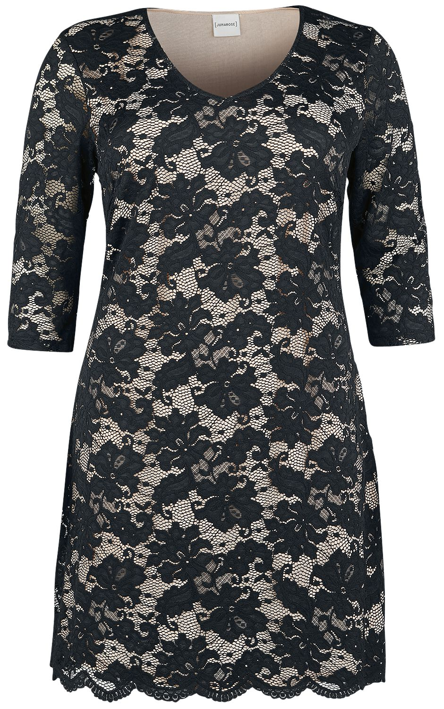 Junarose Laurine Above Knee Dress Sukienka czarny