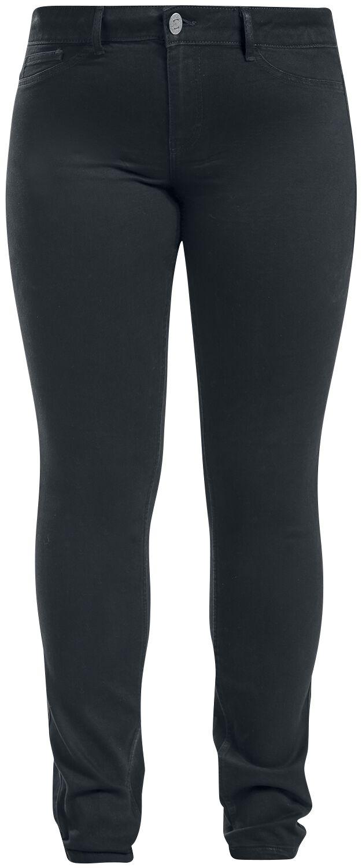 Hosen für Frauen - Junarose Queen Jeans schwarz  - Onlineshop EMP