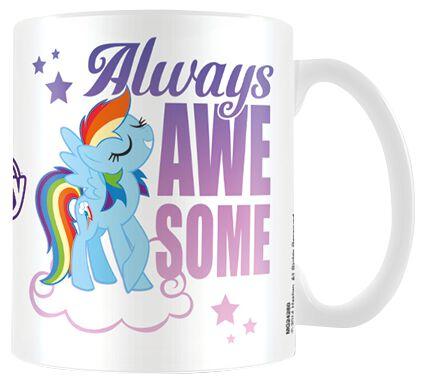 My Little Pony Always awesome Tasse weiß