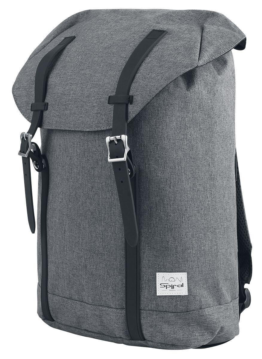 Marki - Torby i Plecaki - Plecak Spiral UK Classic Charcoal Plecak ciemnoszary - 355369