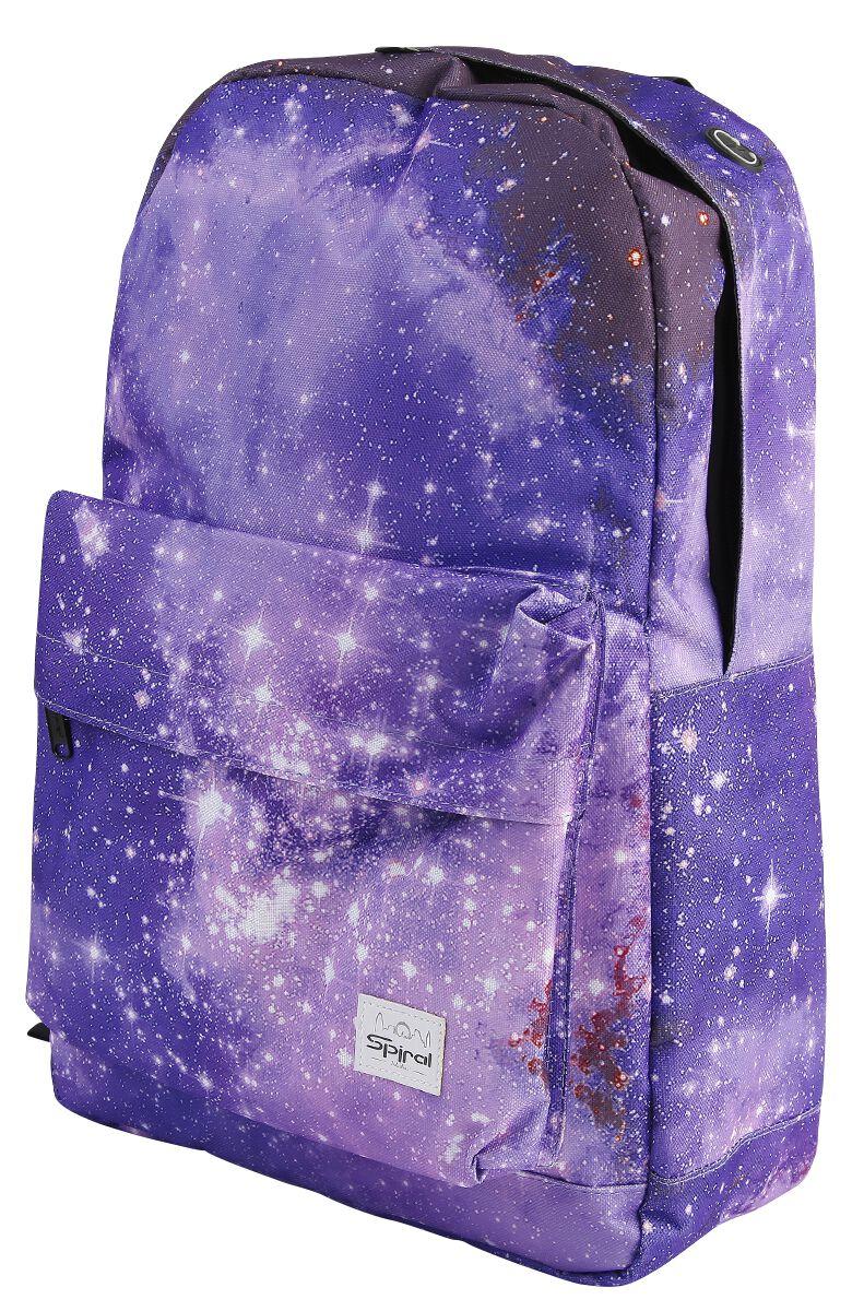 Marki - Torby i Plecaki - Plecak Spiral UK Galaxy Saturn Plecak wielokolorowy - 355371