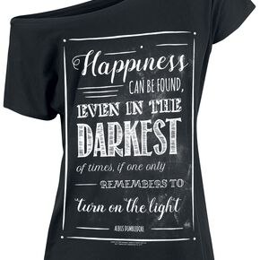 Harry Potter Happiness Can Be Found T-shirt Femme noir