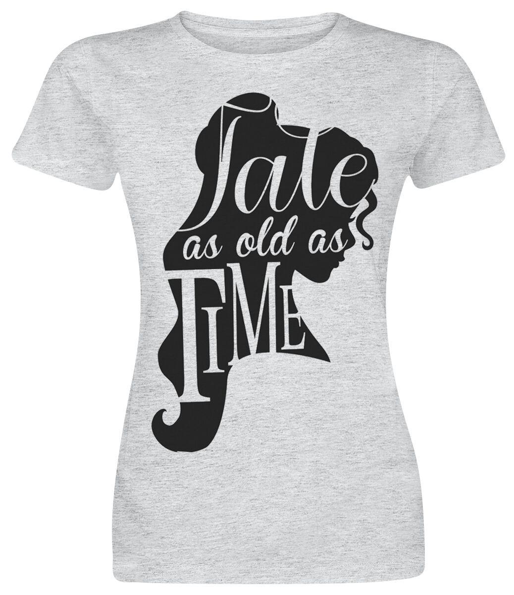 Image of   Skønheden & Udyret Tale As Old As Time Girlie trøje grålig