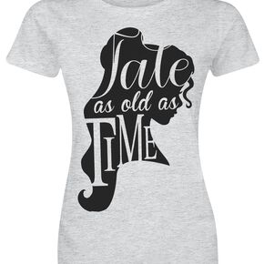 La Belle Et La Bête Tale As Old As Time T-shirt Femme gris chiné