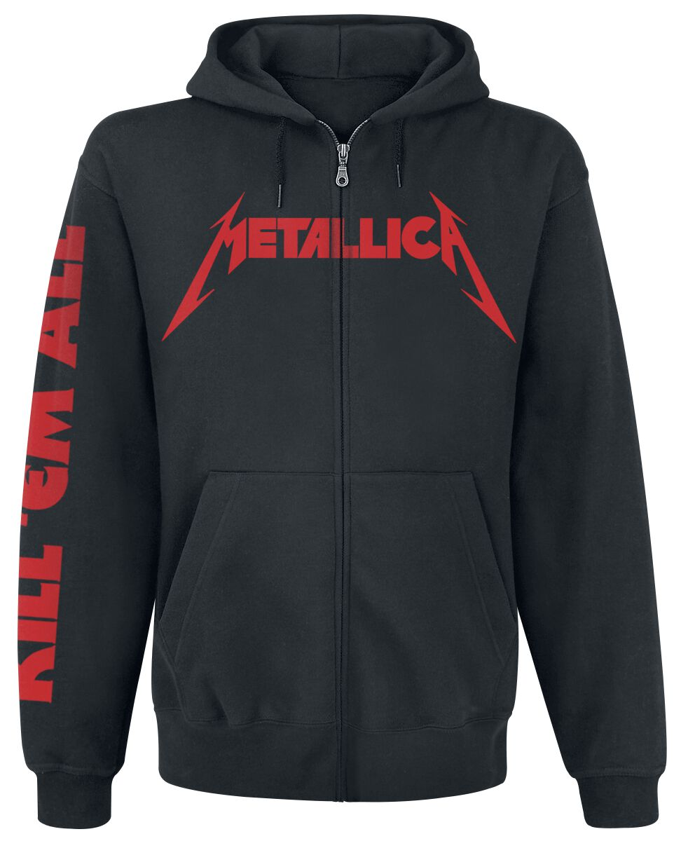 Image of   Metallica Kill Em All Hættejakke sort