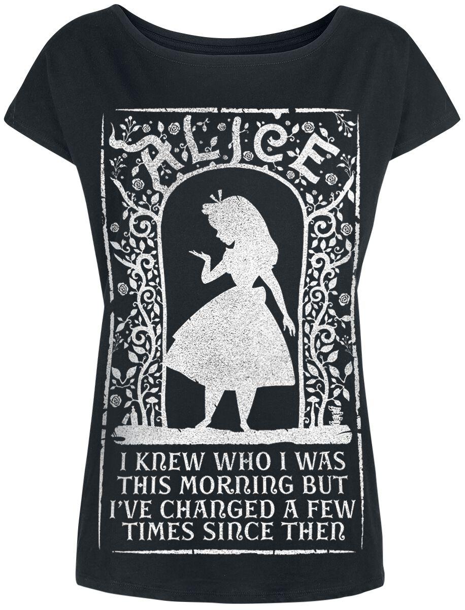 Image of   Alice i Eventyrland I Knew Who I Was Girlie trøje sort