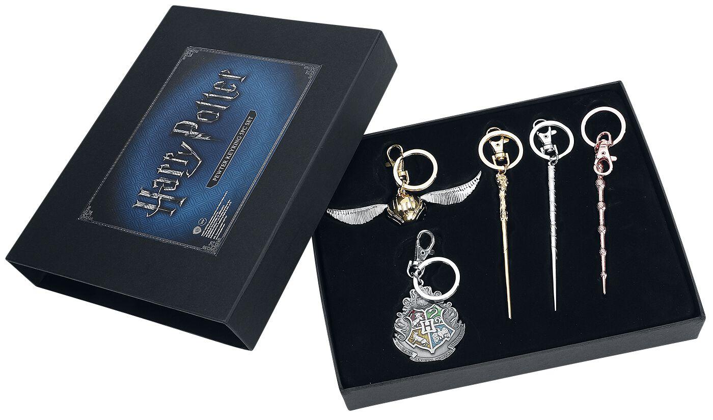 Image of   Harry Potter 5 hochwertige Schlüsselanhänger Nøglering multifarvet