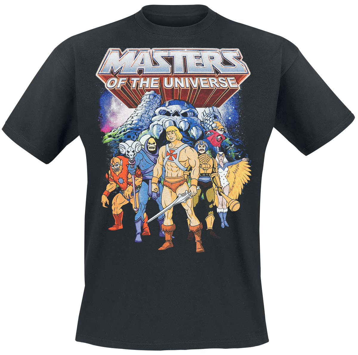 Masters Of The Universe - Characters - T-Shirt - black